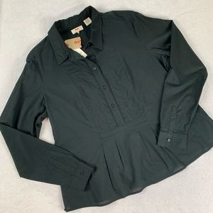 Levi's New With Tags Large Black Top